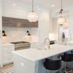 white quartz countertop custom white kitchen modern